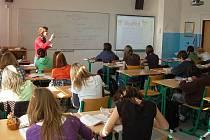 Multimediální učebny na klatovském gymnáziu