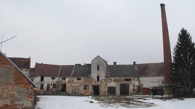 Bývalý lihovar v Janovicích nad Úhlavou