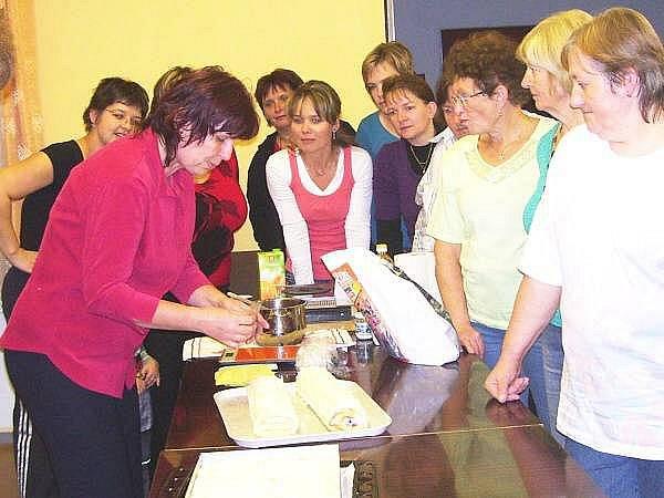 Kurz pečení v janovické knihovně