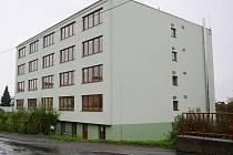 Ubytovna v Zahradní ulici v Klatovech.