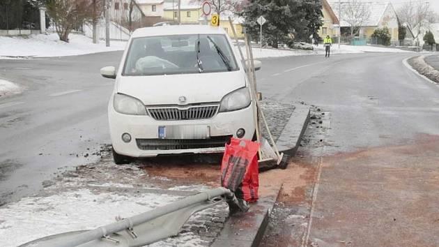 Nehoda ve Štěpánovicích.