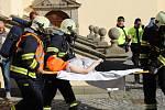 V městském muzeu a zámku Horažďovice se konalo taktické cvičení