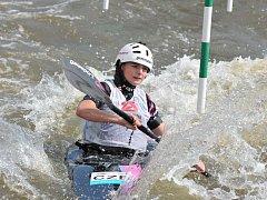 Nominační závody do juniorské reprezentace v Roudnici nad Labem: Antonie Galušková