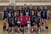 Volejbalistky v oslabené sestavě v Praze dvakrát prohrály.
