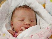 Victoria Fraňková z Plánice (3130 g, 50 cm) se narodila 20. července v 19.12 hodin. Rodiče Michaela a Jan přivítali očekávanou prvorozenou dceru na světě společně.