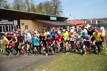Přespolní běh v Mochtíně přilákal rekordní účast.