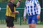 Zápas 2. ligy mužů v národní házené Vřeskovice (červení) - Litohlavy.