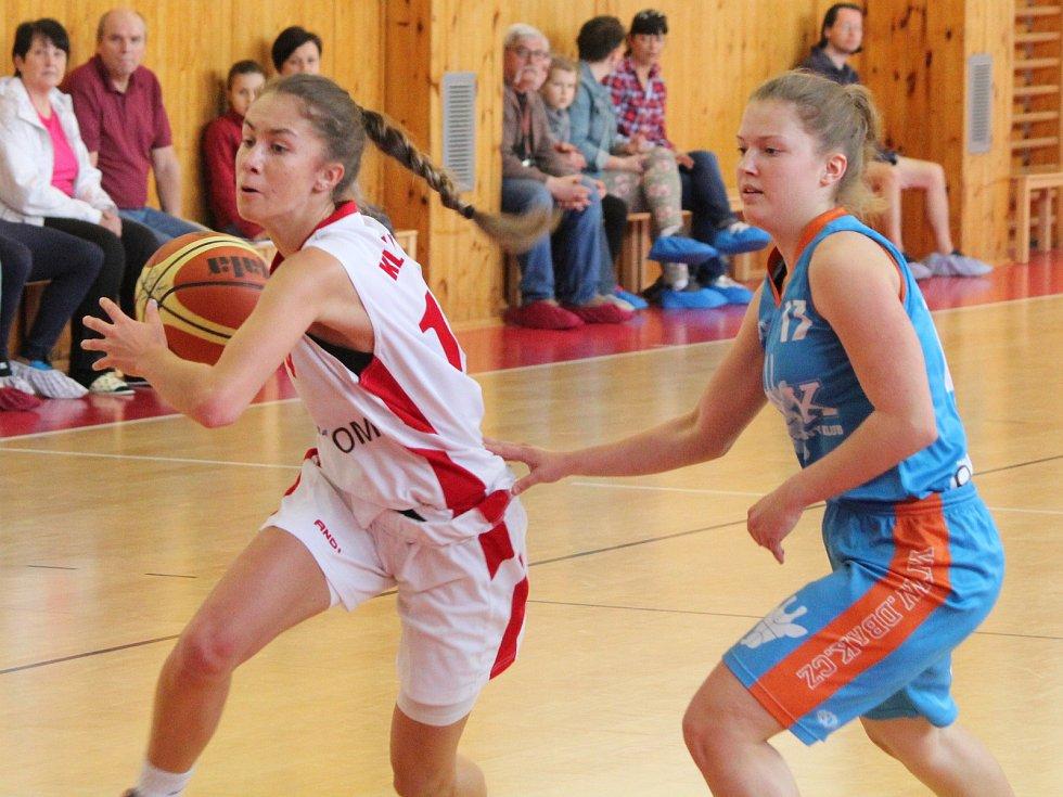 Basketbal, liga kadetek U17 finálová skupina: Klatovy - DBaK Plzeň