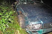 Tragická nehoda řidiče ze Sušice u obce Sedlec