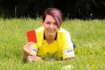 Fotbalová rozhodčí Aneta Panušková z Horažďovic