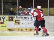 2. liga 2017/2018: Klatovy (červené dresy) - Tábor 0:2