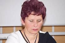 Ředitelka Okresní agrární komory v Klatovech Jiřina Jandová.