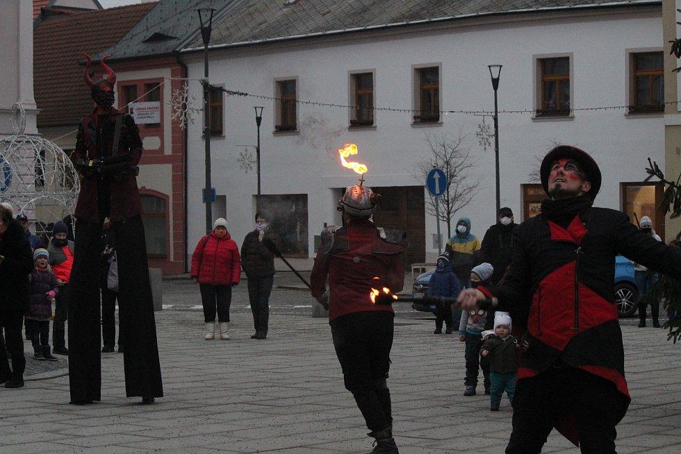 Kejklíři v Horažďovicích.
