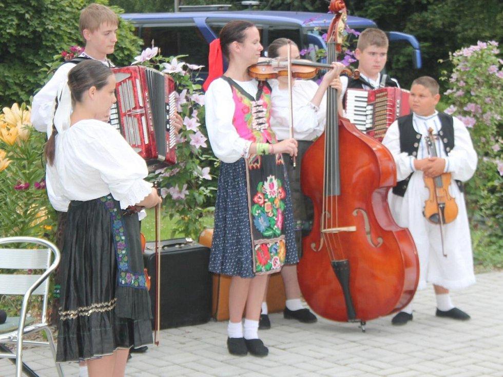 Představení souborů Mezinárodního folklorního festivalu v Klatovech