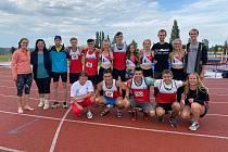 Muži skončili čtvrtí, ženy páté. Atleti se v Plzni bavili a zlepšovali rekordy.