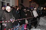 Rauhnacht v Bavorské Železné Rudě.