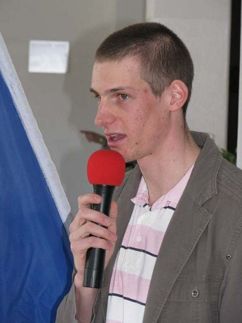 Martin Jakš zodpovídá dotazy školáků