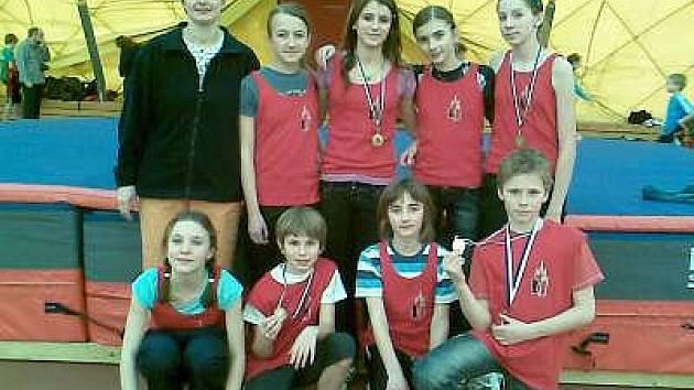 Klatovští atleti se představili na mistrovství západočeské oblasti mladšího žactva.