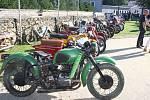 Výstava motorek v Horažďovicích
