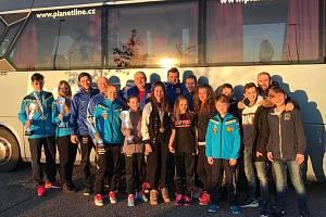 Výprava Českého svazu full-contactu včetně zástupců klubu Hammers Gym na WAKO Europa Cupu Golden Glove v italském Coneglianu