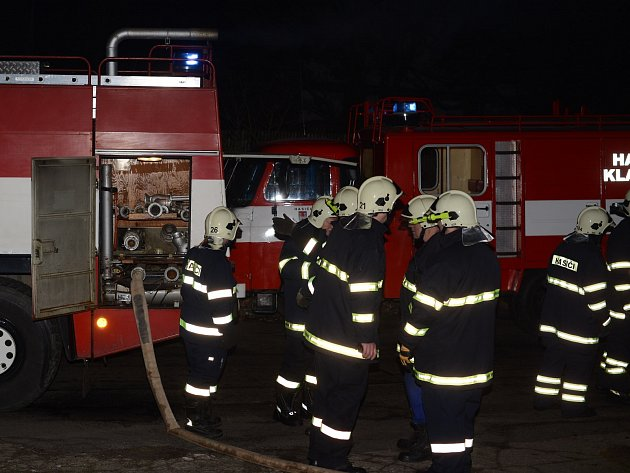 Požár domu vyhnal nájemníky