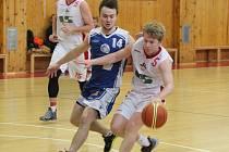 2. liga 2017/2018: BK Klatovy (bílé dresy) - Sokol Kladno