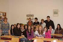 TŘÍDA 9. A. Základní škola v Plánické ulici v Klatovech. Budoucí studenti převážně středních škol.