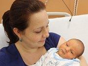 Martin Bauer z Kanic (3550 g) se narodil v klatovské porodnici 20. listopadu v 16.12 hodin. Maminka Veronika a tatínek Martin přivítali svého syna na svět společně.