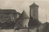 Hrad ve Švihově - dobový snímek