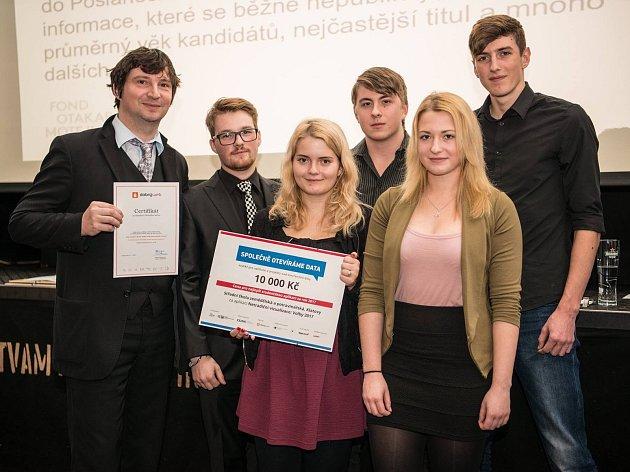 Tým SŠZP Klatovy uspěl s aplikací Volby 2017