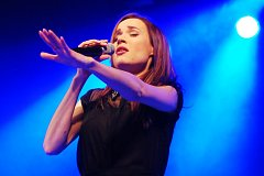 Slovenská zpěvačka Kristina v Klatovech
