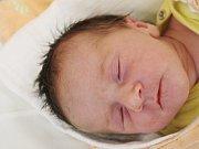 Monika Vopičková zMerklína (3010 g, 48 cm) se narodila vklatovské porodnici  14. října v8.19 hodin. Znarození dcery má radost maminka Veronika a tatínek Václav.