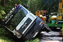 Nehoda u Modravy.