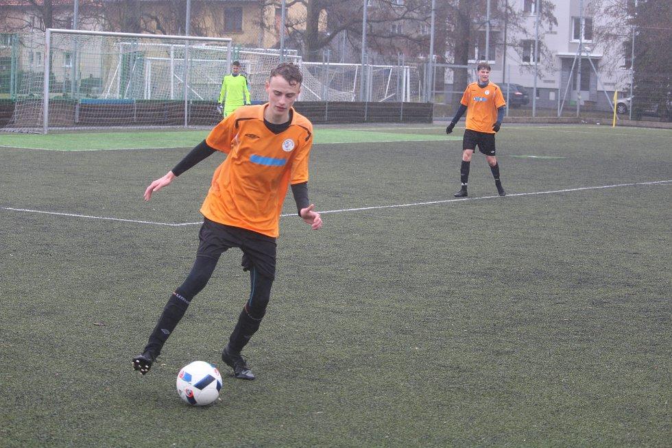 Fotbalová divize U17 Klatovy - Rakovník.