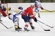 Krajská liga: HC Klatovy B (červené dresy) - HC Meteor Třemošná 3:4