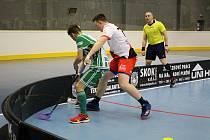 Ze zápasu Bohemians vs. Klatovy.