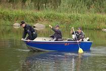 Policisté a hasiči v okolí Malého Boru prohledávali rybníky a remízky, neboť hledali pohřešovaného 85letého muže.