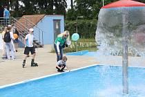 Otevření koupaliště v Sušici spojené s dětským dnem.