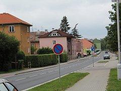 Tyršova ulice v Klatovech.
