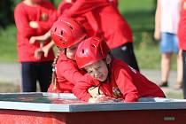 Dětská hasičská soutěž v Lubech 2016.