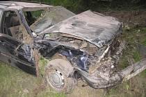 Dopravní nehoda u Rabí