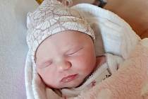 Sabinka Svobodová zJežov se narodila vklatovské porodnici 20. srpna v 8:46 hodin (2850 g, 45 cm). Z narození holčičky mají radost rodiče Lenka a Jakub.  Doma se na Sabinku těší sestřička Agátka (5), babičky, dědečkové i prababičky a pradědečkové.