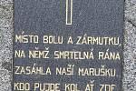 Pietní akt v Hlavňovicích.