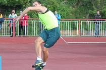 Oštěpař Petr Frydrych hodil na Velké ceně Klatov 85,52 metru.