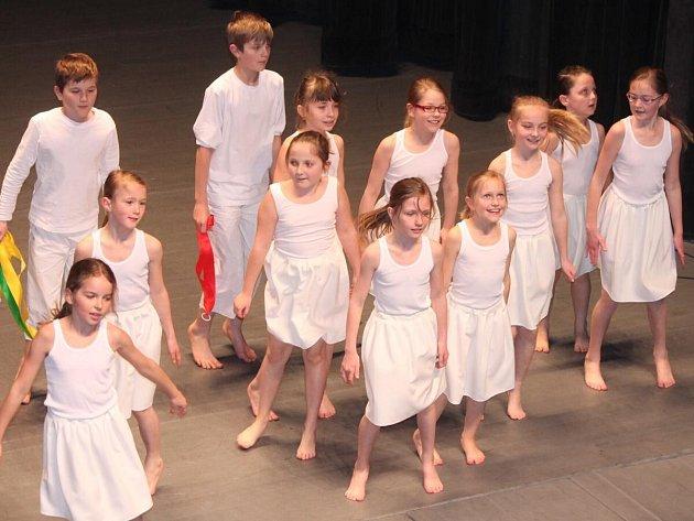 Přehlídka scénických tanců v Klatovech