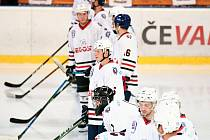 Hokejisté SHC Klatovy (v bílém) vyzvou HC Řisuty.
