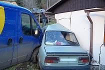 Nehoda v Hnačově.