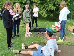 Soutěž mladých zdravotníků v Klatovech.