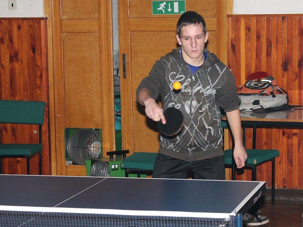 Turnaj ve stolním tenise v Nalžovských Horách