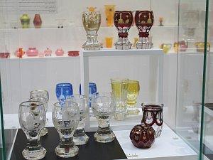 Výstava a tvoření v Pavilonu skla v Klatovech.